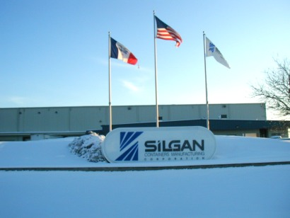 Front of Sigan Containers Fort Dodge Iowa - 3 December 2003