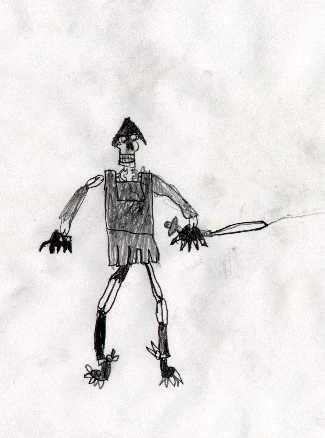 Skeleton Warrior By Daniel Goodson - 29 Nov 99