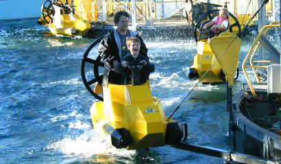 Daniel & Nathan on the Agua-Zone - 18 December 2003