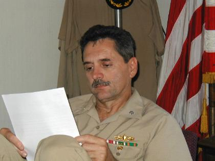 Commander Robert Sommers, N4 Deputy COMPHIBGRU THREE  (July 2001)