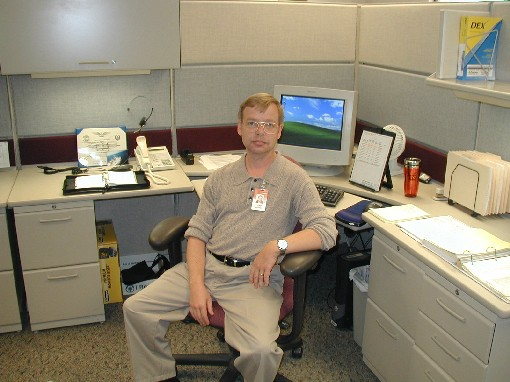 Me at Rockwell Collins - October 2004